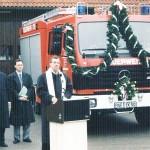 Fahrzeugweihe 1996