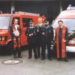 Fahrzeugweihe 2000
