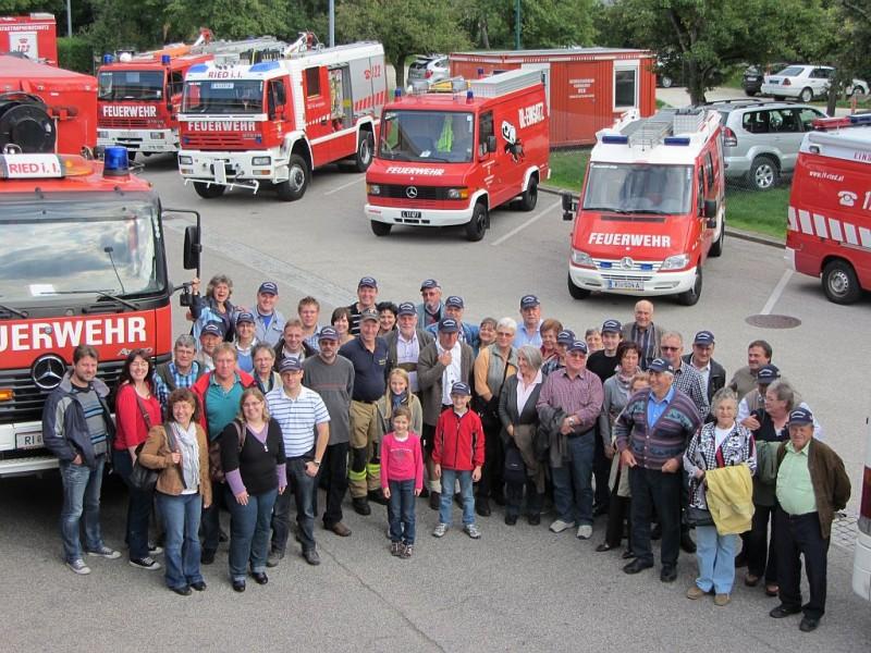 Vereinsflug 2012 zur Feuerwehr Ried (at)