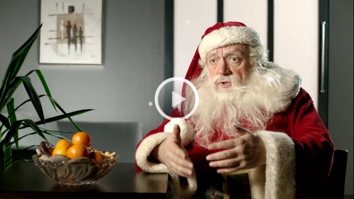 *Video:auch ein weihnachtsmann braucht abwechslung
